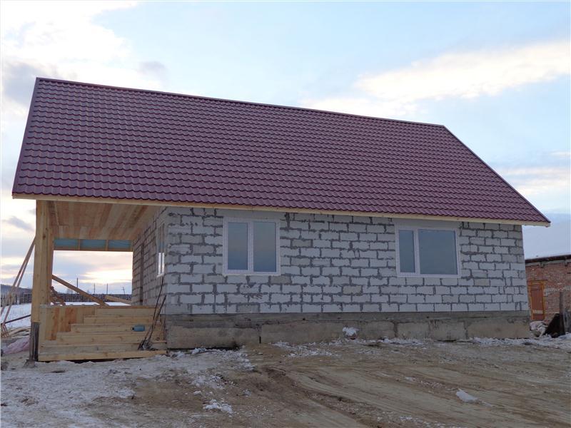 Дачный домик из сибита своими руками 2