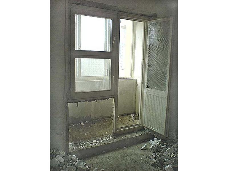 Установка балкона стеклопакетами своими руками.