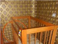 кровать-маятник с двумя положениями в хорошем состоянии, продаю кровать-маятник с 2-мя положениями, в хорошем состоянии. Можно использовать, как маятн, Барнаул - Детская мебель