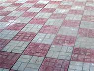 Тротуарная плитка Тротуарная плитка более 50 видов стоимость от 250 рублей кв м, Барнаул - Отделочные материалы