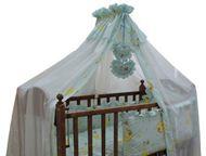 Новые комплекты в кроватку для новорождённых из Турецкой бязи Красивые комплекты в кроватку из Турецкой бязи для детской кроватки 7-ми, 6-ти, 2-х пред, Барнаул - Товары для новорожденных