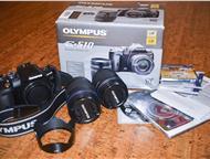 Olympus E-510 дабл кит, объективы 14-42 и 40-150мм Продаю зеркальную цифровую фотокамеру Olympus E-510 KIT, плюс 2 объектива к ней 14-42 и 40-150 Doub, Барнаул - Фотокамеры и фото техника