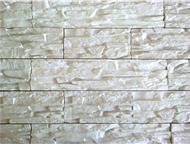 Искусственный камень (гипсовый) Искусственный интерьерный камень из высокопрочного гипса, форма «Тонкослойный сланец». Представлен как белый, так и в , Барнаул - Отделочные материалы
