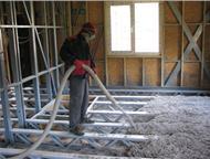 Утеплить дом в любое время года – это возможно Для утепления применяется экологически чистый материал ЭКОВАТА. При монтаже материал проникает в самые , Барнаул - Другие строительные услуги
