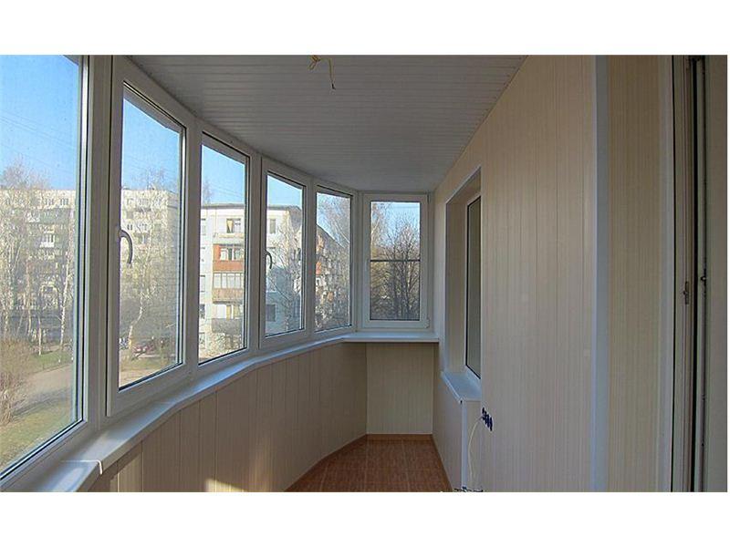 Внутренняя и наружная отделка и утепление балконов ,лоджий, .